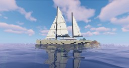 Modern Sailing Yacht - 1.14.3 Minecraft Map & Project