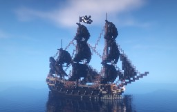 The Black Pearl - Pirates of the Caribbean. Minecraft Map & Project
