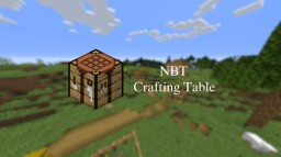 NBT Crafting Table v0.1 Minecraft Data Pack
