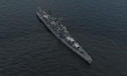 USS Brooklyn (CL-40) Minecraft Map & Project
