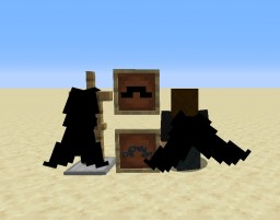 Mumbo Jumbo's Mustache Elytra Vanilla Add-On Minecraft Texture Pack