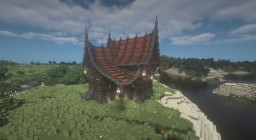 [1.12.2][Download available] Fantasy Wooden House-02 Minecraft Map & Project
