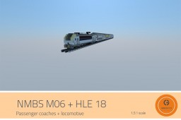SIEMENS HLE 18 + M06 Minecraft Map & Project