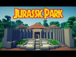 Jurassic Park Minecraft Texture Pack