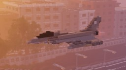Eurofighter Typhoon Minecraft Map & Project