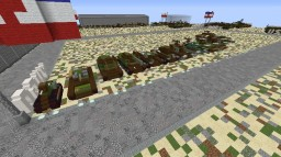 Every Yugoslavian tank (12 vehicles) Minecraft Map & Project