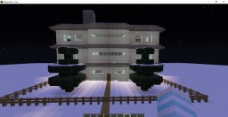 Snowy Mansion 1.14.4 Minecraft Map & Project