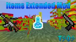 Items Extended Mod Minecraft Mod