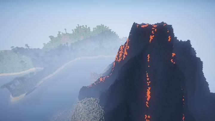Off Shore Volcano