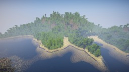 Jungle Survival Island (2500x2500) (Worldpainter) Minecraft Map & Project