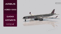 Airbus A350-1000 Qatar Airways | 1.14.3 | [+Download] Minecraft Map & Project