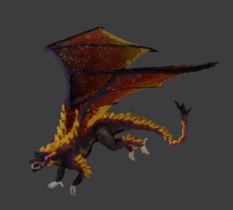 Fire Dragon Minecraft Map & Project