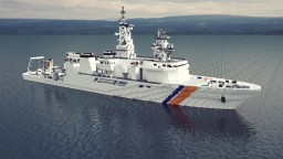 Coast Guard surveying Vessel Minecraft Map & Project