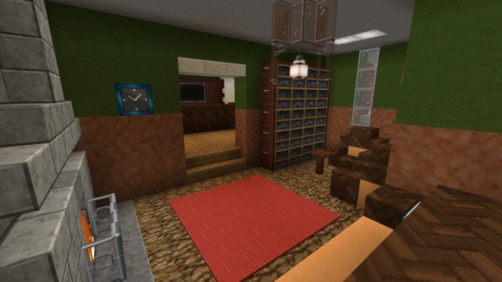 Mini Library with one bookshelf