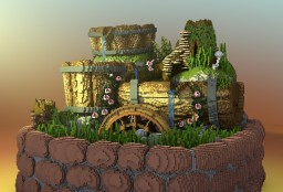 Artificial fountain Minecraft Map & Project