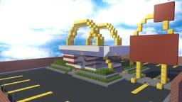 Classic McDonalds Minecraft Map & Project