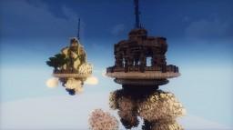 Semi-Futuristc Spawn Minecraft Map & Project