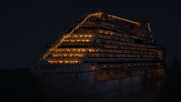 MS Carnival Horizon | 1:1 Cruise Ship Replica (OLD) Minecraft Map & Project