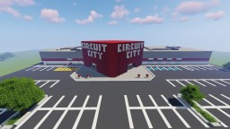 Circuit City Store Minecraft Map & Project