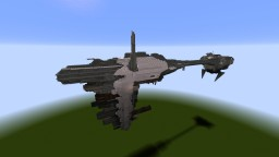 EF76 Nebulon-B escort frigate (Star Wars: Rebels/Rogue One/The Empire Strikes Back/Return of the Jedi) Minecraft Map & Project