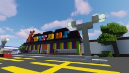 80's Toys R Us Minecraft Map & Project