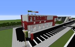 [Modern] Ferrari Car Dealership Minecraft Map & Project