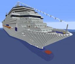 Costa Fascinosa Full Interior Mega-Build 1.7:1 Scale Minecraft Map & Project