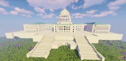 United States Capitol Building Minecraft Map & Project