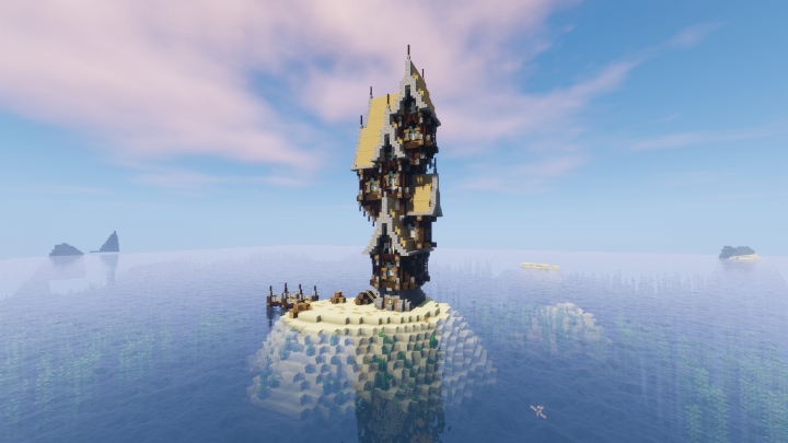 Steampunk Island Minecraft Project