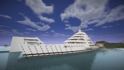 Mega Yacht (Azzam) Minecraft Map & Project