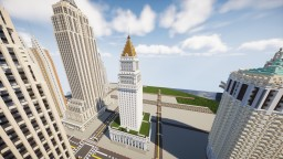 Citrus States Courthouse | New Limesville City | State of New Limesville | United Citrus States Minecraft Map & Project