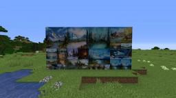 Bob Ross's Happy Art Gallery Minecraft Texture Pack