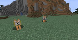 Wolves Except They're Shiba Inus Minecraft Texture Pack