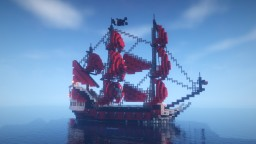 Queen Anne's Revenge - Pirates of the Caribbean Minecraft Map & Project