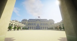 Palais De L'Élysée / Résidence Présidentielle Française | Élysée Palace / French Presidential Residence Minecraft Map & Project
