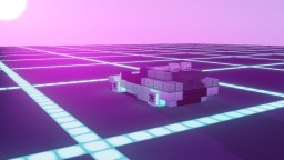 Synthwave DeLorean Minecraft Map & Project