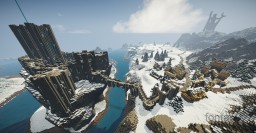 Winterhold (Skyrim TES) with interior Minecraft Map & Project