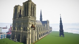 Notre Dame Remake Minecraft Map & Project