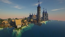 Vetero town Minecraft Map & Project
