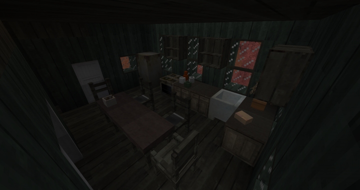 This interior is outdated, I no longer use this datapack and have improved decorations