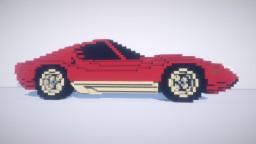 1972 Lamborghini Miura SV Minecraft Map & Project