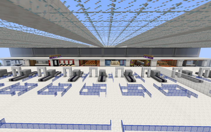 T1 main hall shops and restaurants