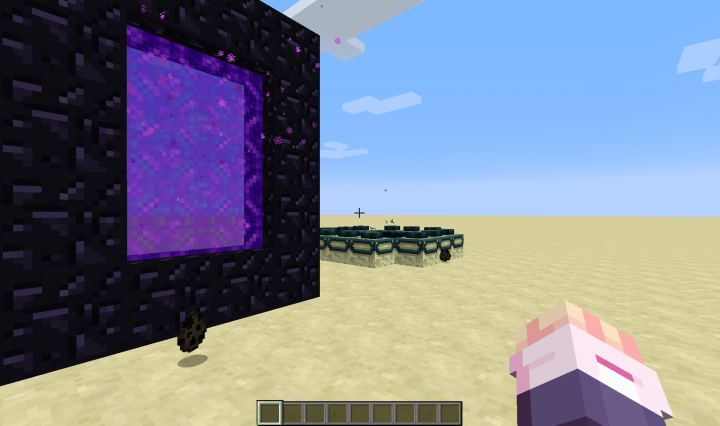 Portal Spawners Minecraft Data Pack