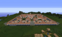 Roman village - Towny Spawn - now 100% finished Minecraft Map & Project