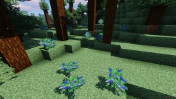 Sweetberries to blueberries Minecraft Texture Pack