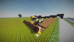 New Holland Cr 10.90 Combine Harvester Minecraft Map & Project