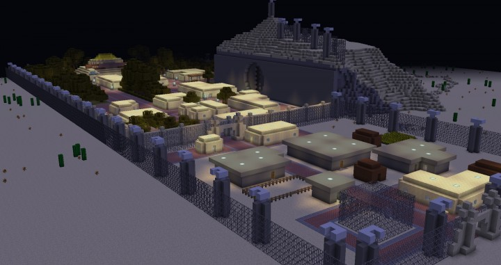 Vault City Remade in Minecraft Minecraft Project