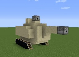 M1A2 Abrams (US Tank) Minecraft Map & Project