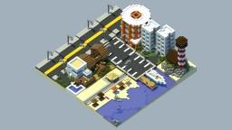 Chunkworld - Beach Minecraft Map & Project