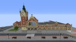 Gdańsk Main Station/Gdańsk Główny - Polish railway station Minecraft Map & Project
